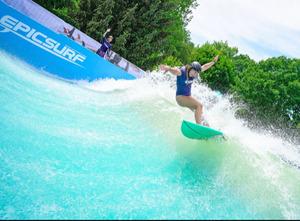 ADG's New EpicSurf Stationary Surf Wave Revolutionizes Land-Based Surfing